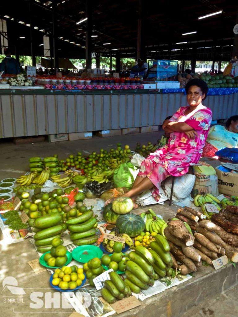 Nadi - Fiji - mercato - market