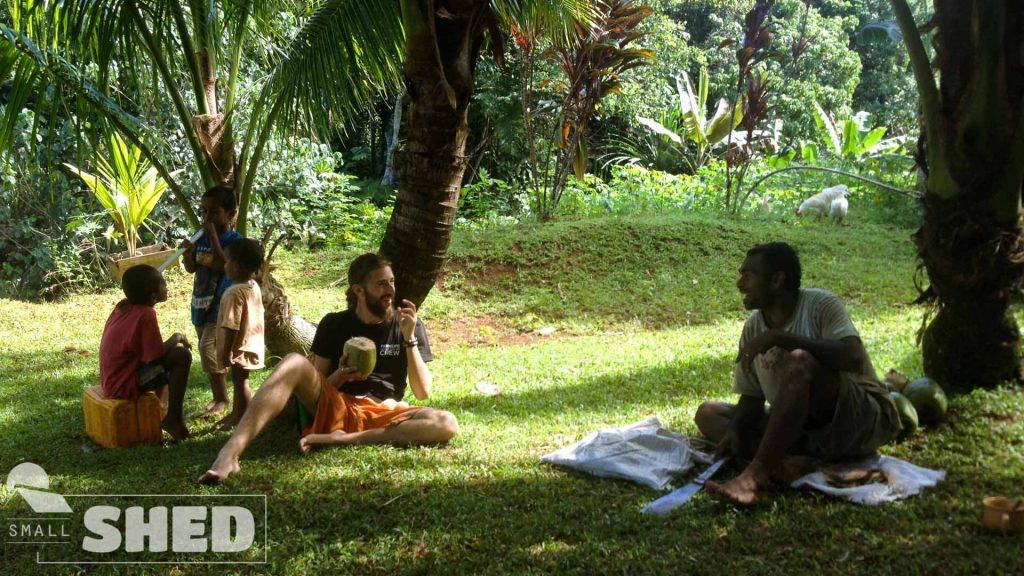 coconut - fiji -