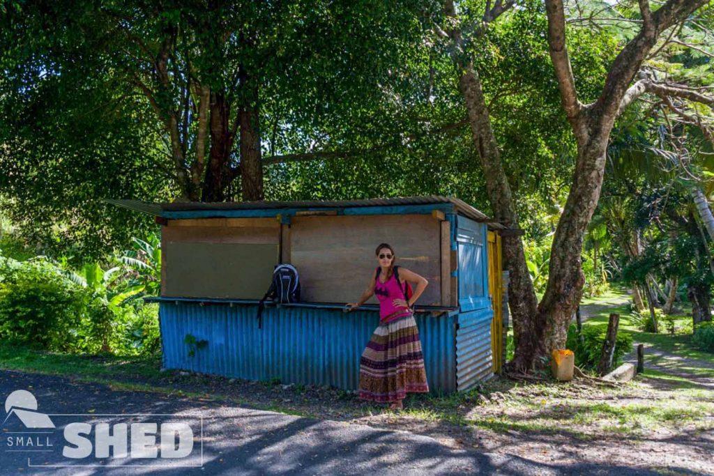 bus - stop - fiji