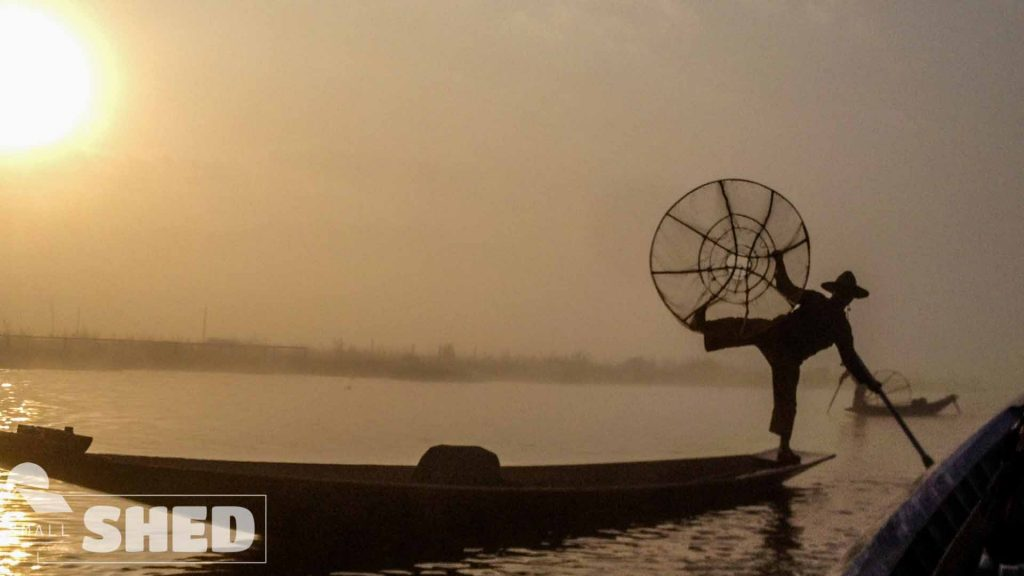inle lake - fisher man - pescatore