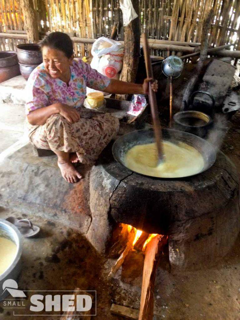 tufo - myanmar - burma - food