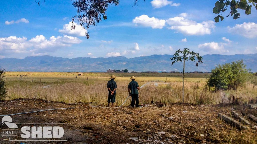 myanmar - burma - contadini