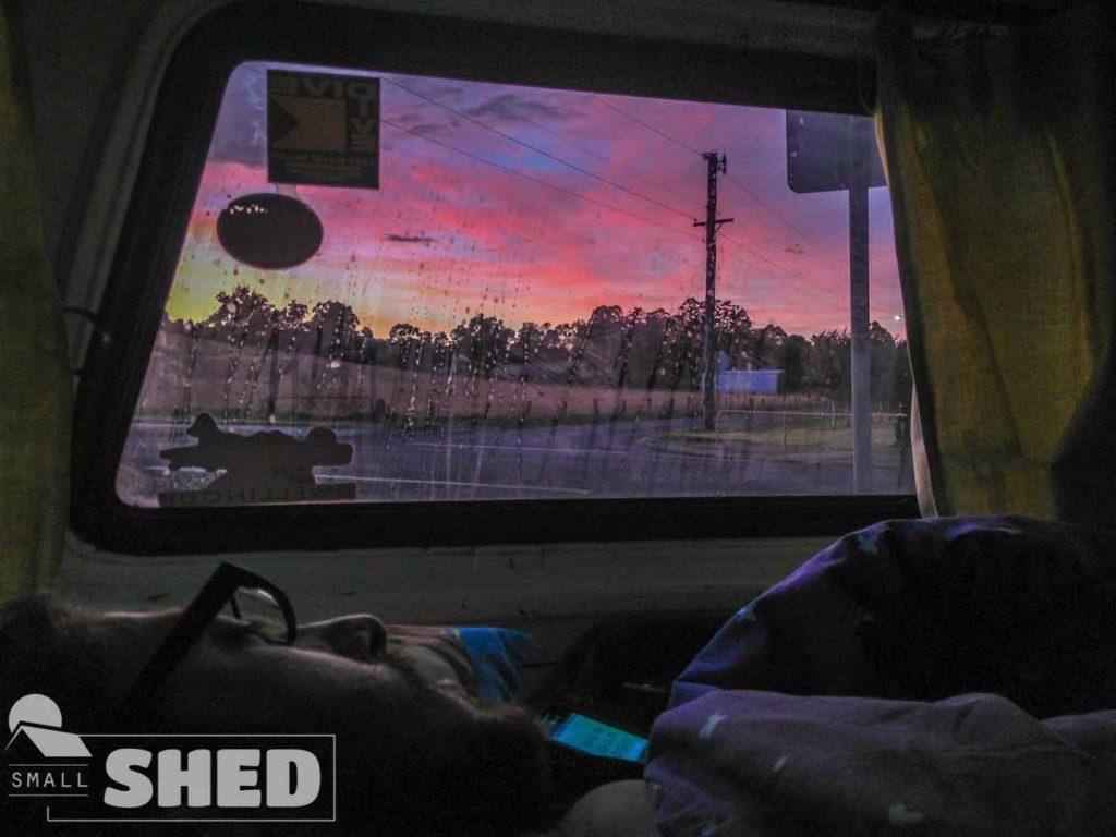 sunrise - van - australia