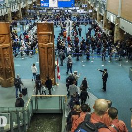 vancouver - canada - airport - arrival