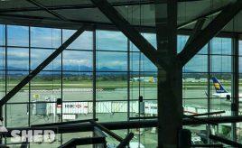vancouver - airport - mountain - canada